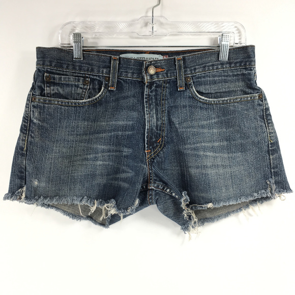 Levi's Pants - Levis 514 Slim Straght Jean Cutoff Shorts size 32